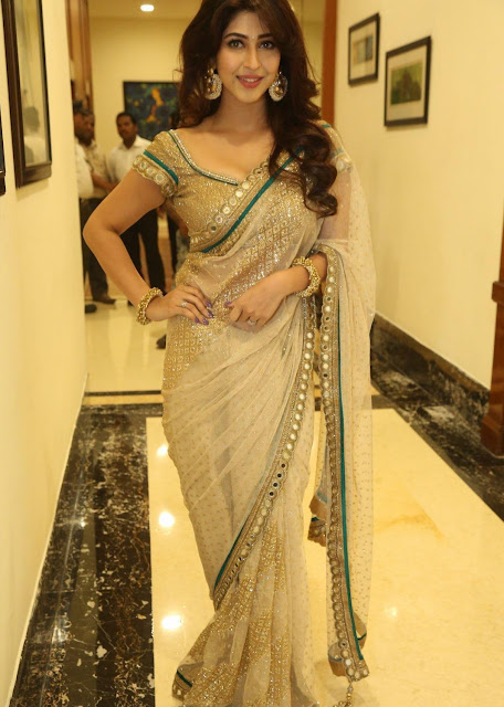 Sonarika Bhadoria Looks Irresistibly Sexy In Saree At Telugu Film Eedorakam Aadorakam Audio Launch Event In Hyderabad