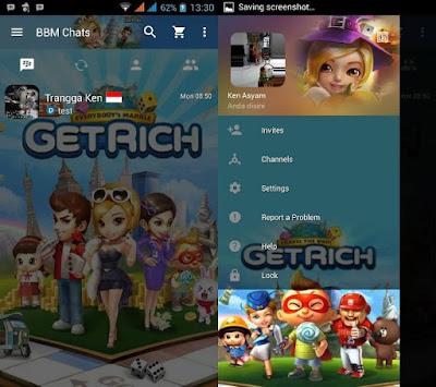 BBM Get Rich MOD V3.0.0.18 Terbaru