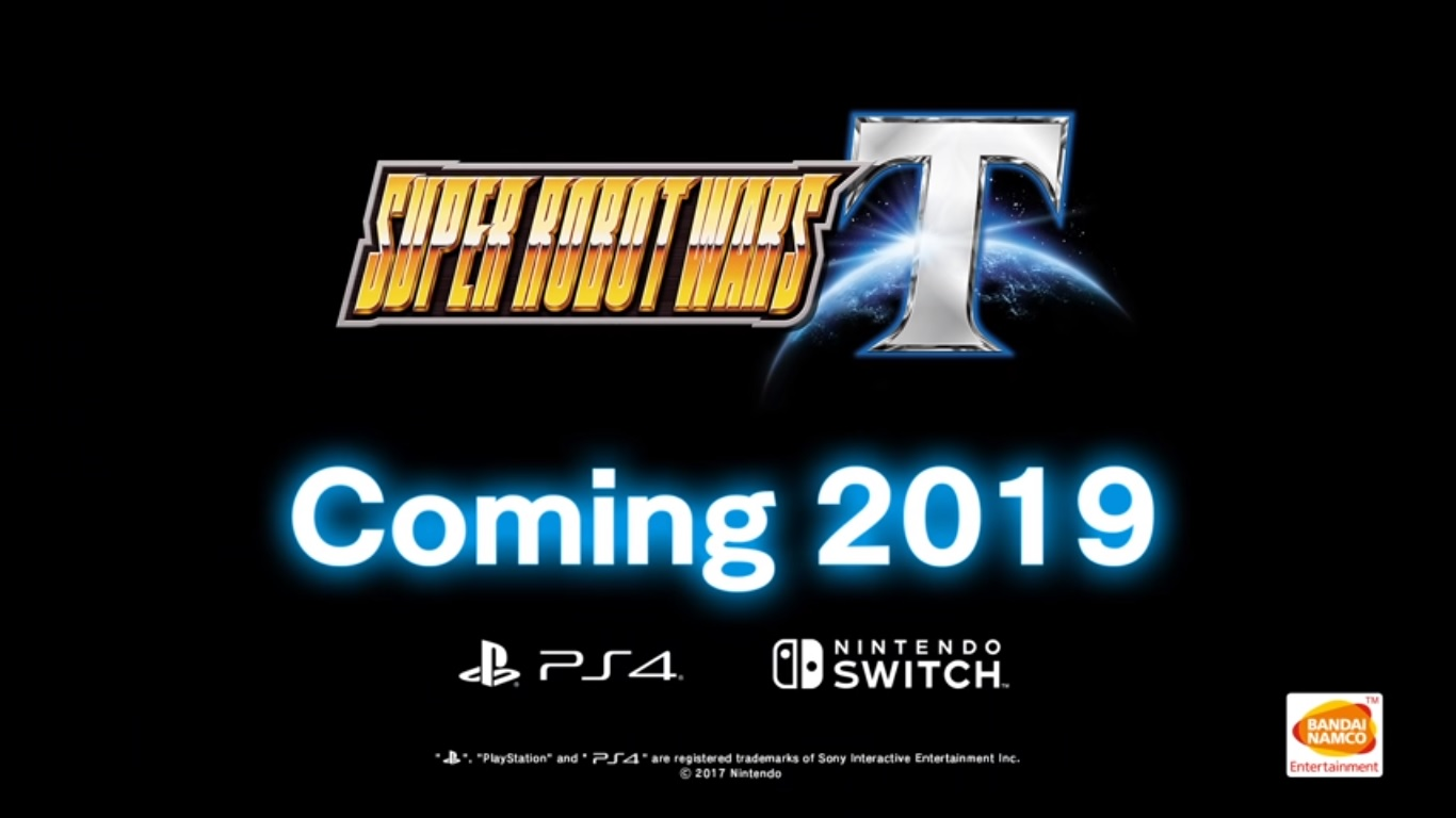 Super Robot Wars T Video Game for PlayStation 4 and Nintendo Switch released on March 20, 2019