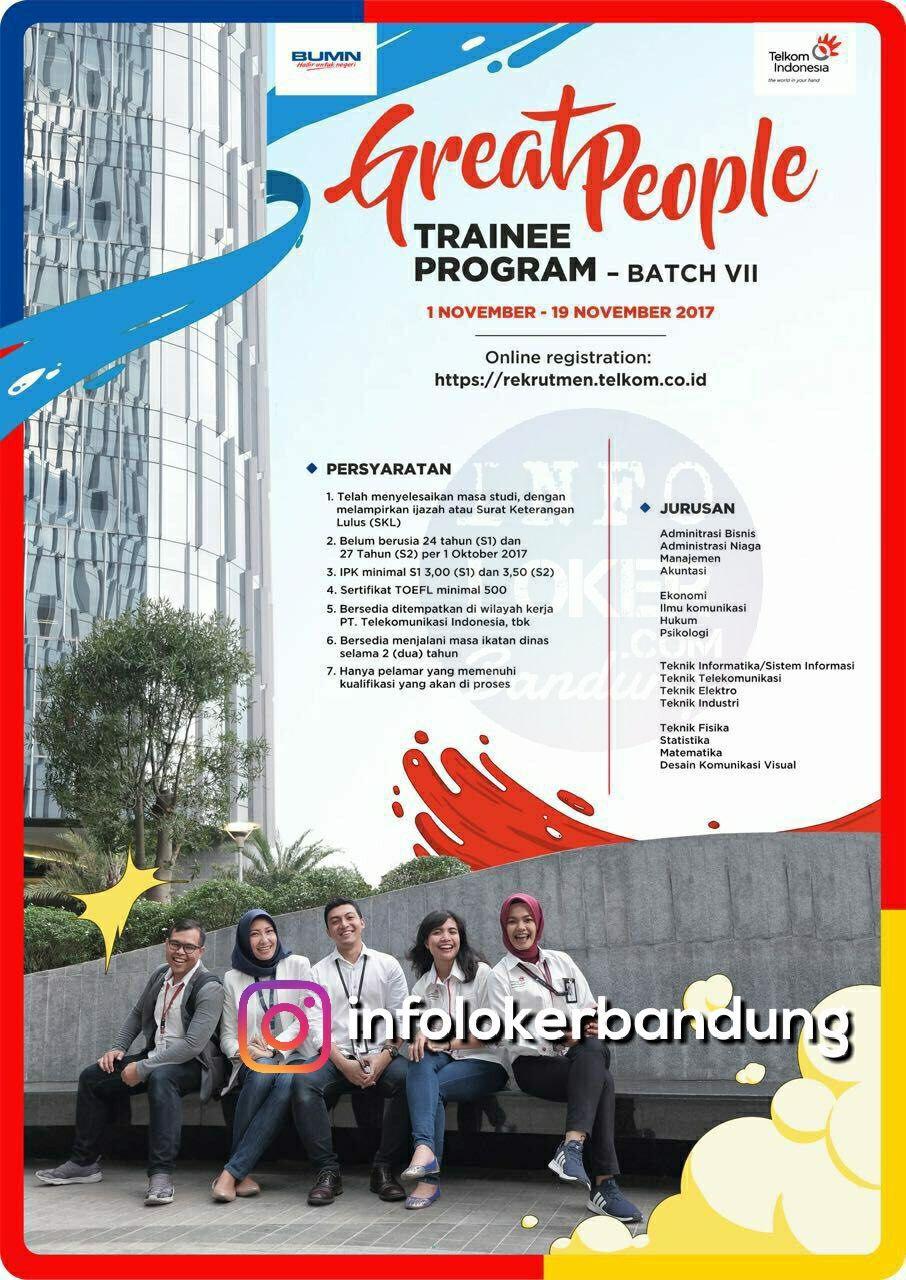 Lowongan Kerja PT. Telkom Indonesia November 2017 - Info