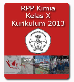 RPP Kimia Kelas X | Kurikulum 2013