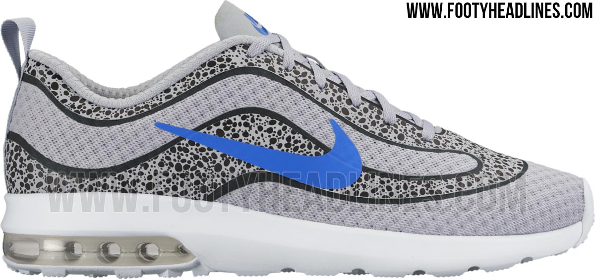 Nike Air Max Mercurial R9 - Grey / Black / Blue