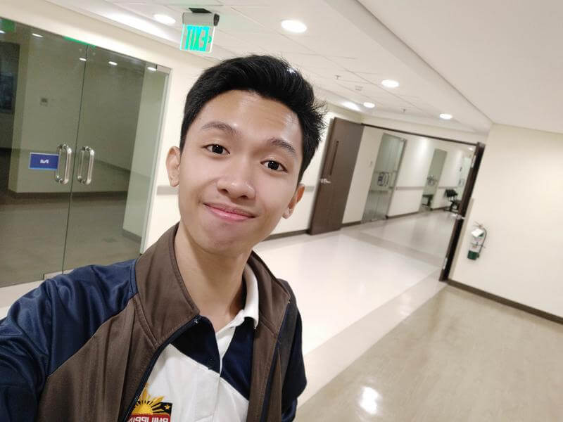 Vivo V9 Front Camera Sample - Selfie, Indoor