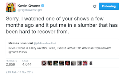 Sabrina the Teenage Witch Actress Calls WWE Wrestler Lazy