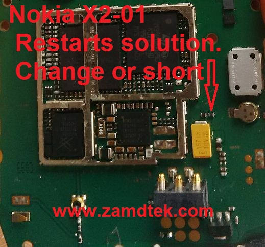How to repair Nokia X2-01 restarts even after flashing.