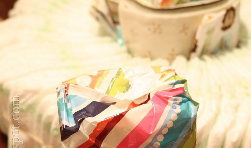 Easiest Way To Make A Diaper Cake