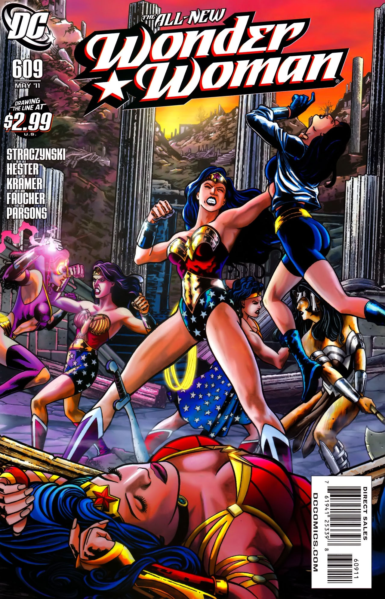 Read online Wonder Woman (2006) comic -  Issue #609 - 1
