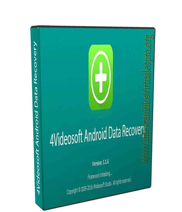 4Videosoft Android Data Recovery v1.1.6 poster box cover