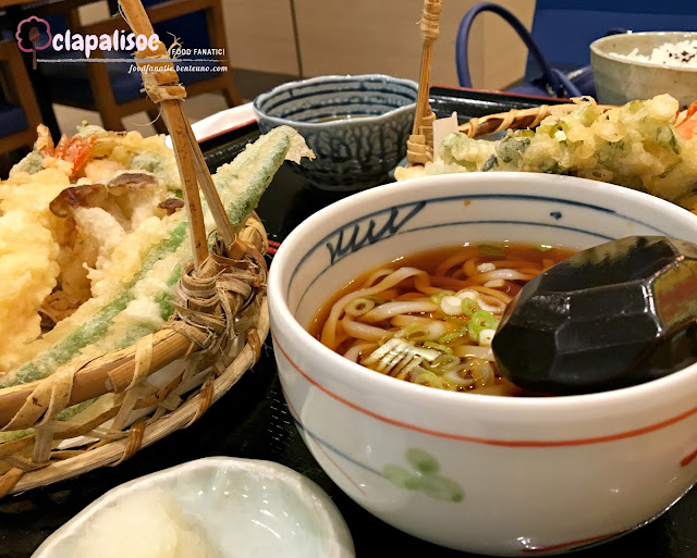 All Star Tempura Set from Tenya Tempura Tendon