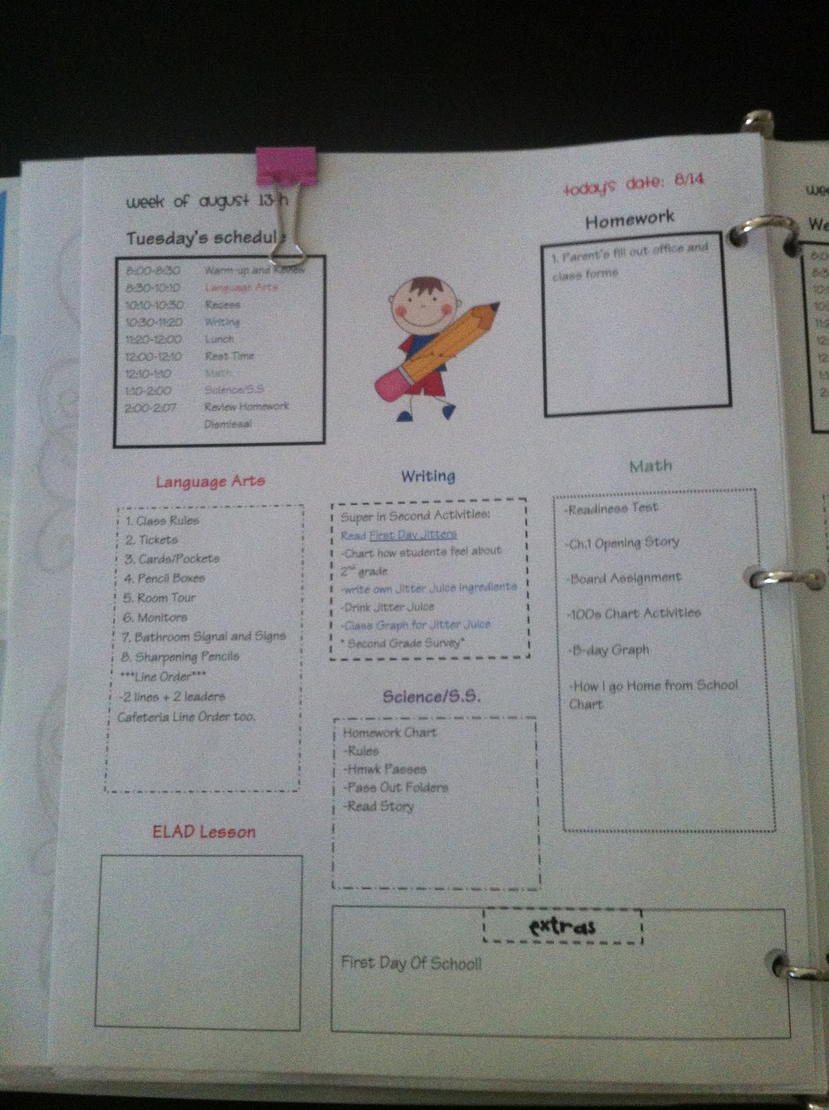August 2012bright concepts 4 teachers lesson plans and for Bright from the start lesson plan template