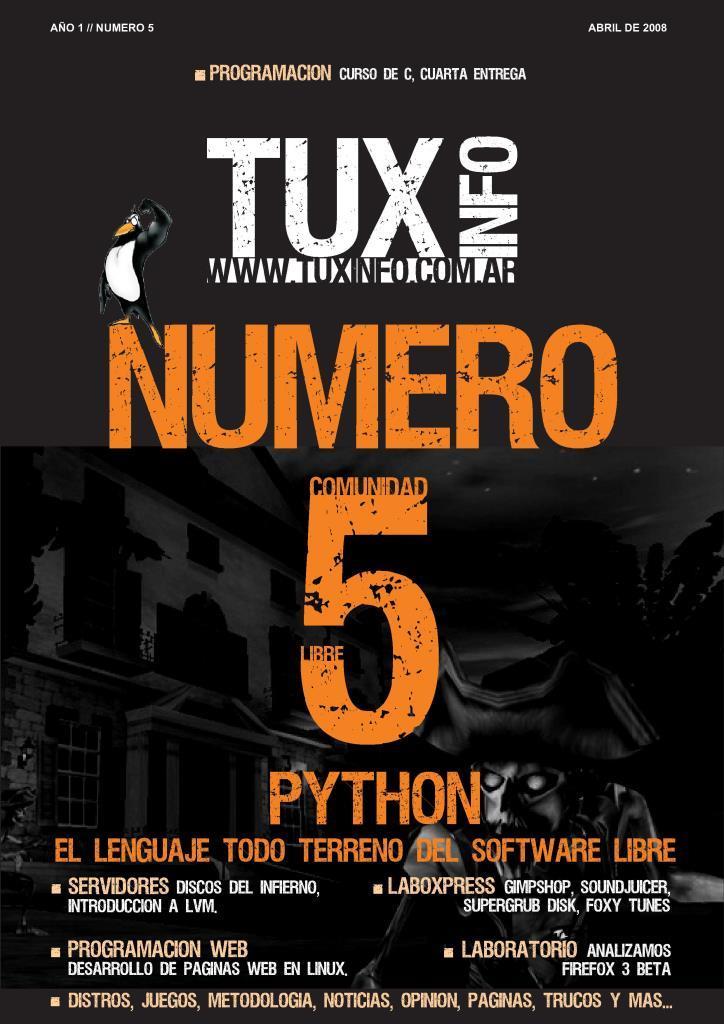 TuxInfo Nro. 5 – Phyton