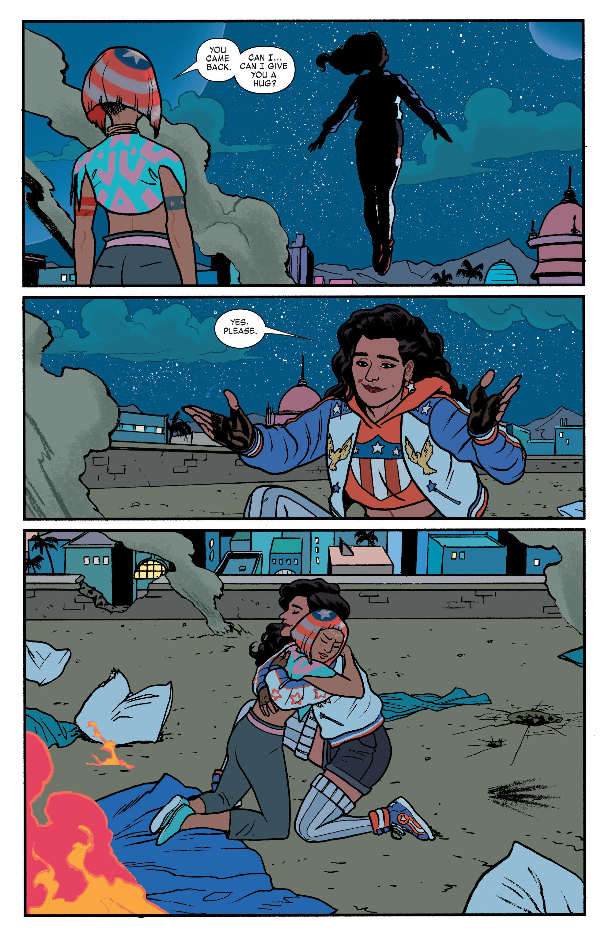 Read online America (2017) comic -  Issue #4 - 14