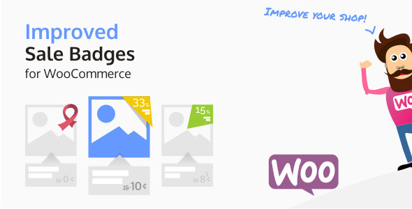Free Download Improved Sale Badges V2.2.0 for WooCommerce Wordpress Plugin