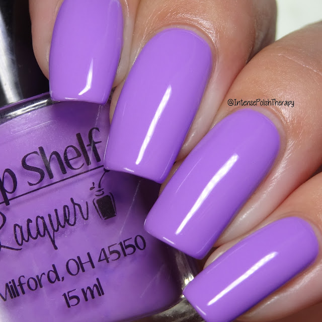 Top Shelf Lacquer - Black Raspberry Vanilla Smoothie