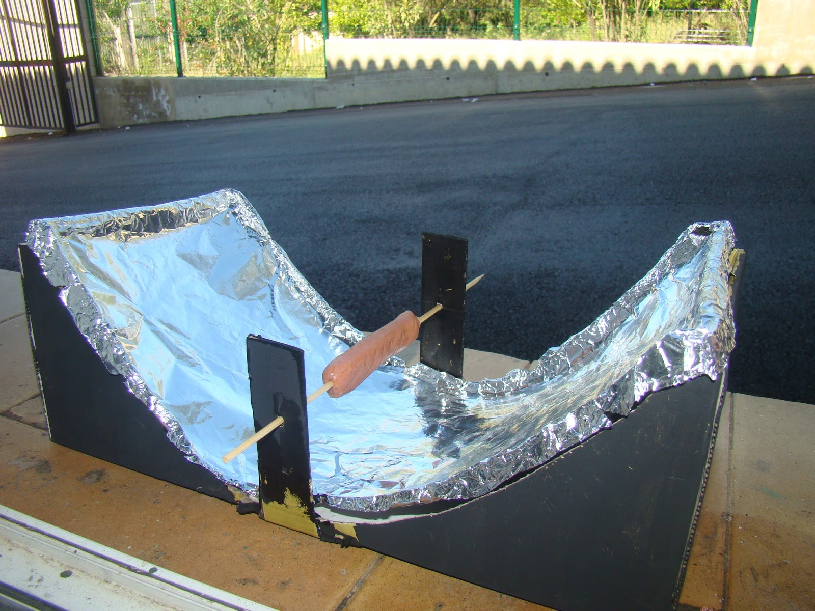 Homemade Solar Cooker Out Of Shoebox Ftempo