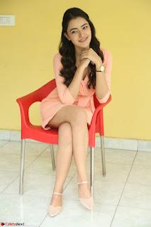 Rukshar Mir in a Peachy Deep Neck Short Dress 1.JPG