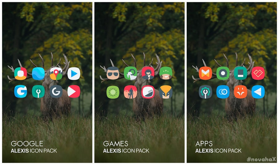 Alexis icon pack 8 8 APK is Here [Patched] | Novahax
