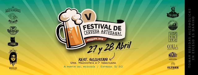 Festival de Cerveza Artesanal, Arequipa 2018