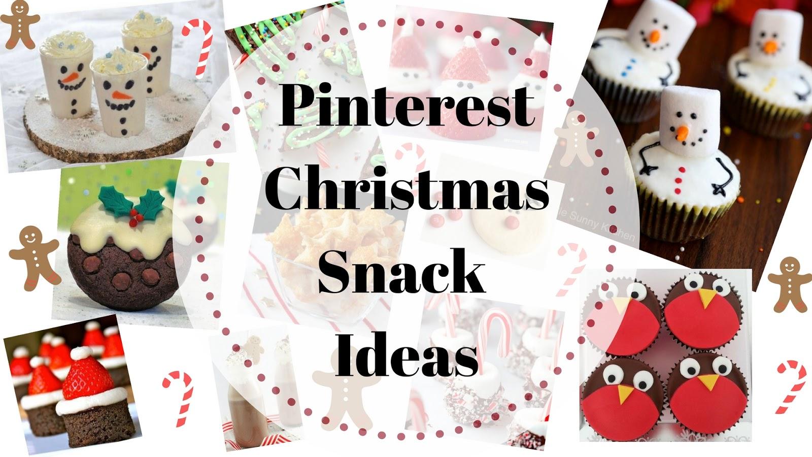 Pinterest Christmas Snack Ideas