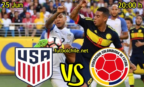 VER STREAM RESULTADO EN VIVO, ONLINE: Estados Unidos vs Colombia