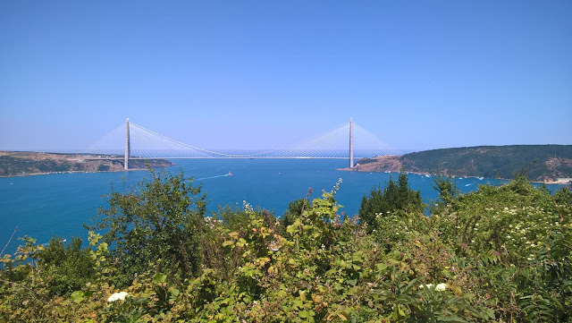 Anadolu Kavağından Yavuz Sultan Selim Köprüsü