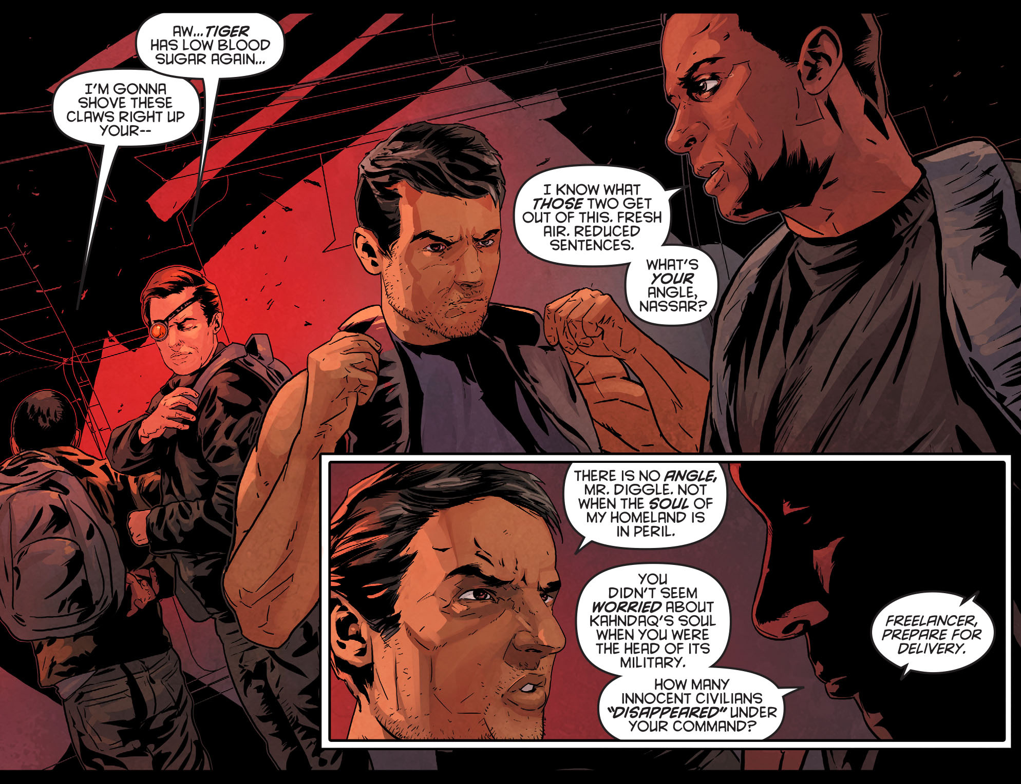Read online Arrow: Season 2.5 [I] comic -  Issue #11 - 4