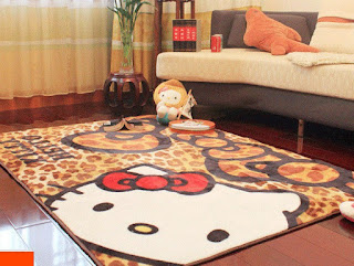 Gambar Karpet Hello Kitty yang Lucu 7