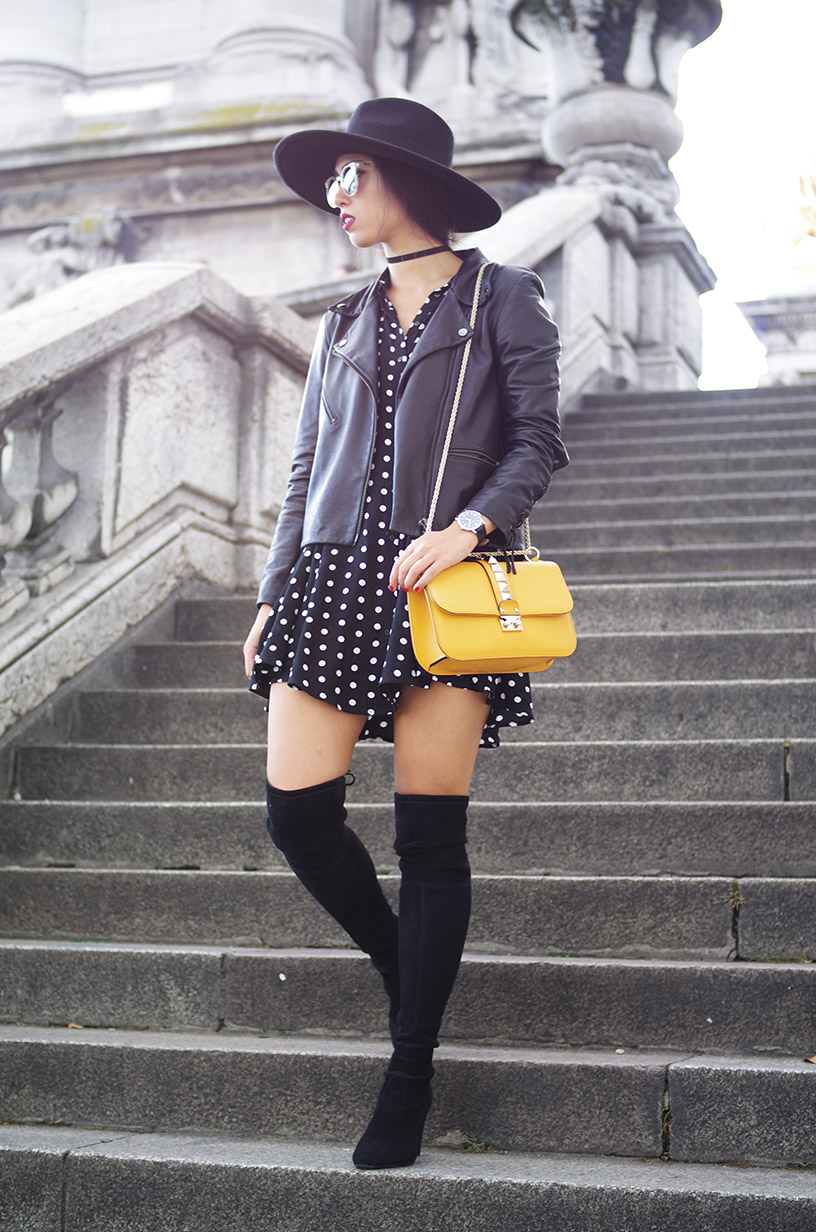 Over the knee boots fall trend outfit l tendance cuissardes Stuart Weitzman Valentino Zara l THEDEETSONE l http://thedeetsone.blogspot.fr