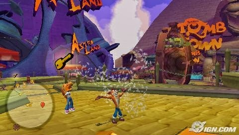 download Crash Tag Team Racing psp