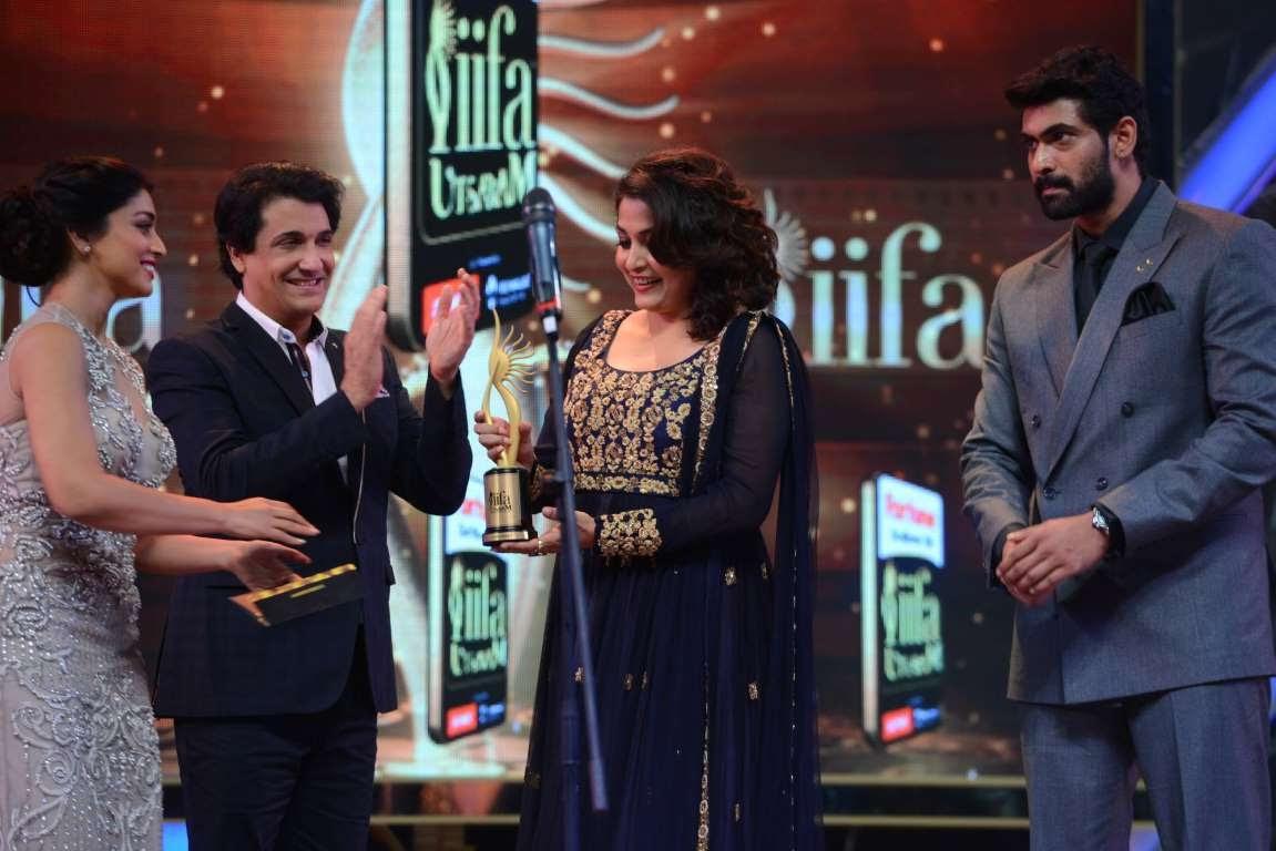 Ramya Krishnan won the Best Performance in a Supporting Role  Female for her performance in Telugu film Baahubali