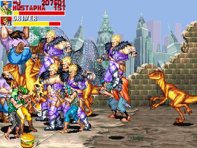 街機:恐龍快打(恐龍新世紀)超多Boss血腥版+武器改造無限子彈變態版!