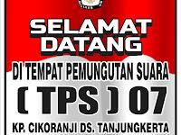 Download Contoh Spanduk Selamat Datang di TPS Format CDR