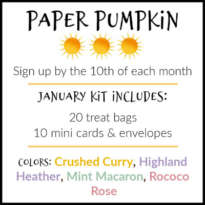 Sign up for January's I'll Bee Yours Paper Pumpkin kit | Subscribe with Nicole Steele The Joyful Stamper
