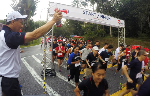 UOB Heartbeat Run/Walk Asia Raise Fund 3.3Millions