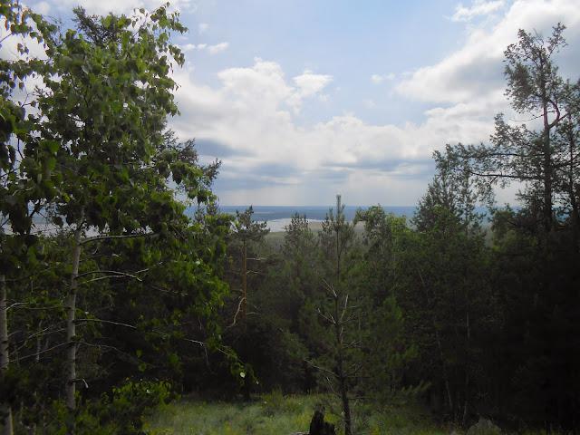 Озеро Сугомак с горы Сугомак