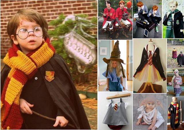 idées déguisements enfant harry potter