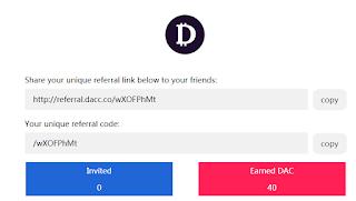 Free DAC Token
