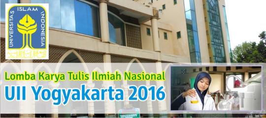 Lomba Karya Tulis Ilmiah Nasional UII Jogja 2016 LKTI