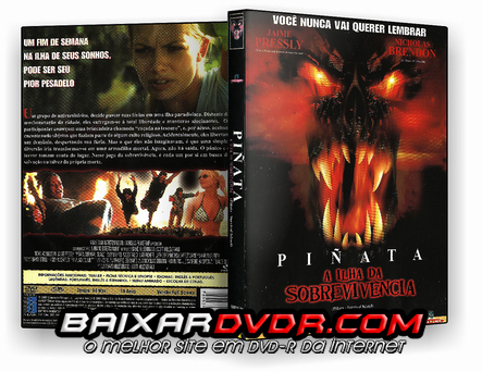 PIÑATA – A ILHA DA SOBREVIVÊNCIA (2002) DUAL AUDIO DVD-R OFICIAL