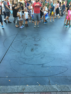 Goofy Water Drawing Disney Parks
