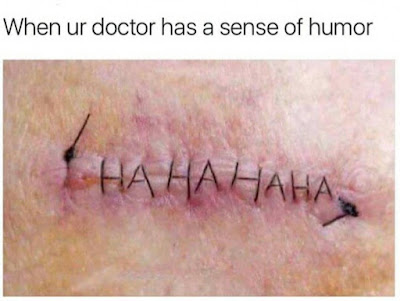 When ur doctor has a sense of humor funny meme picture