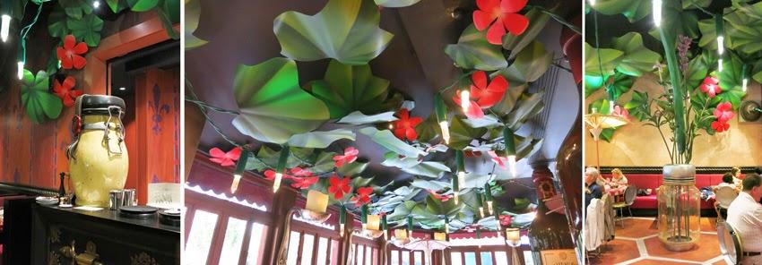 Restaurante Bistrot Che Rémy_detalles florales