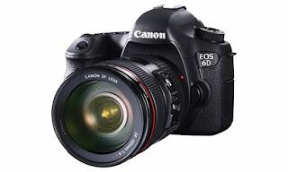 Harga dan Spesifikasi Kamera Canon EOS 6D Baru