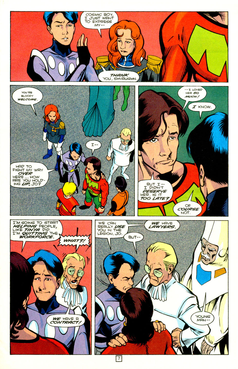 Legion of Super-Heroes (1989) 72 Page 8