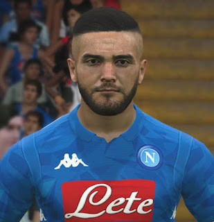 PES 2017 Faces Lorenzo Insigne by ABW_FaceEdit