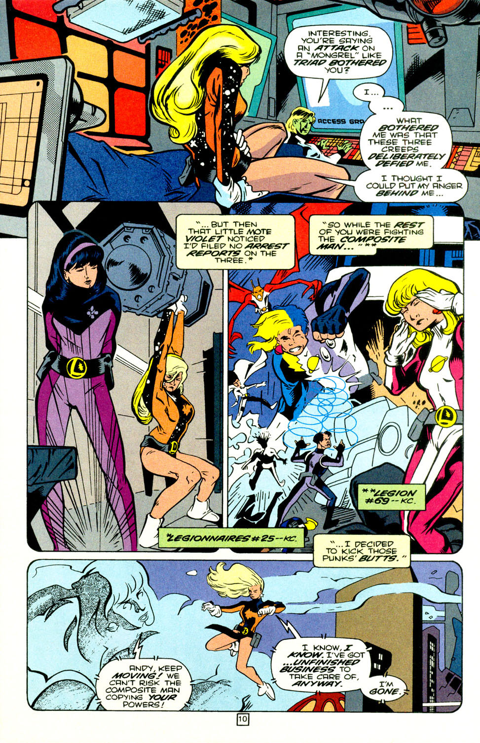 Legion of Super-Heroes (1989) 70 Page 11