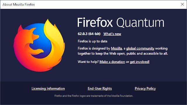 Mozilla Firefox Quantum 62.0.3 Offline Installer Free_1