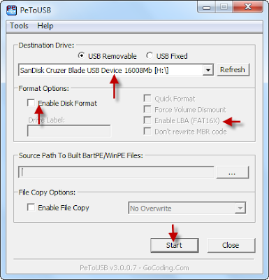 Petousb free software utility,download Petousb free software utility,make usb flash drive bootable,repair corrupted usb flash disk ,fix,repair,usb pen drive,free software