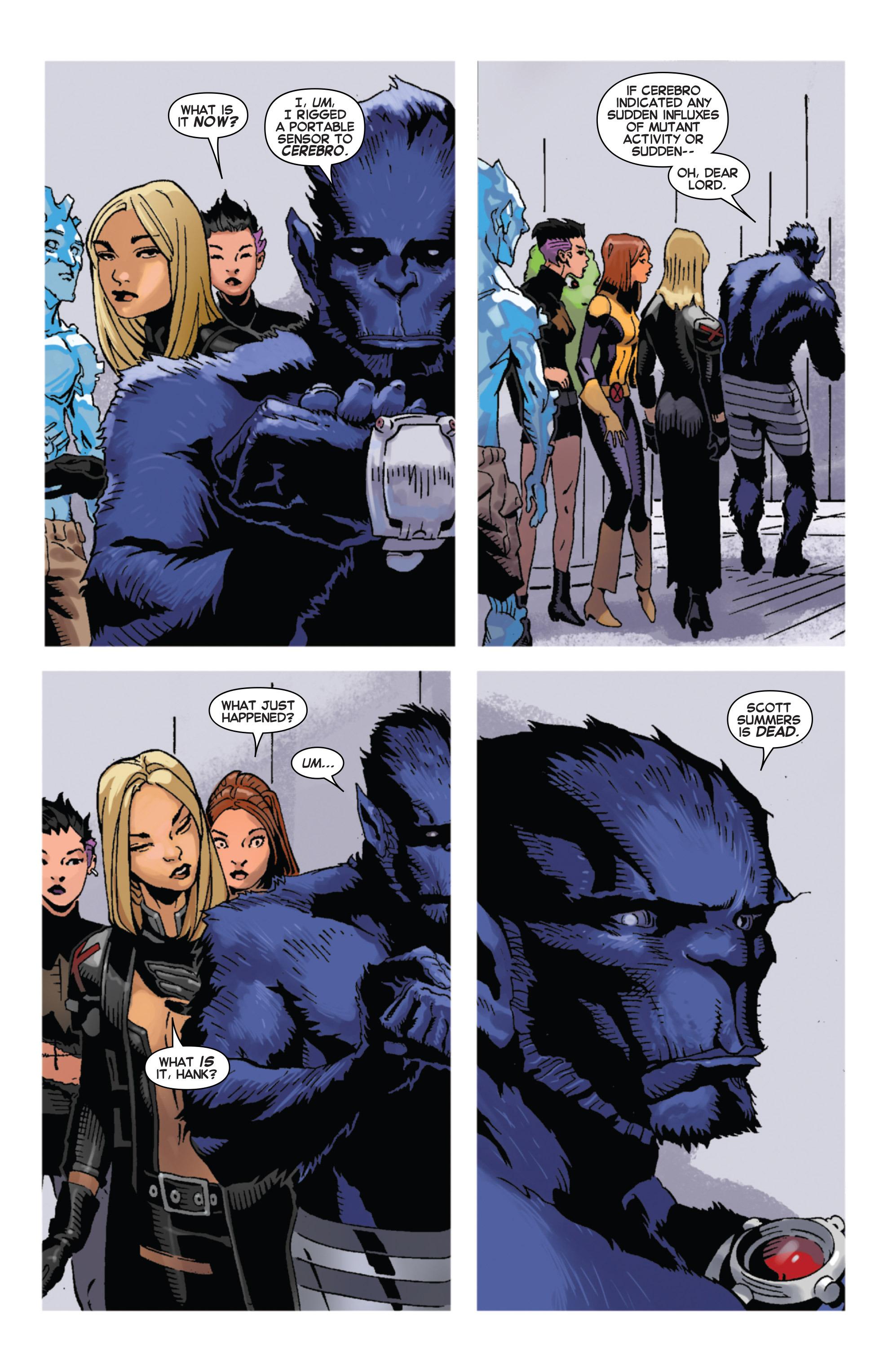 Read online Uncanny X-Men (2013) comic -  Issue # _TPB 5 - The Omega Mutant - 82