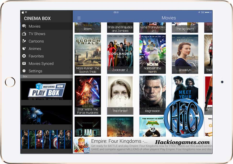 Watch Movies and TV Shows FREE iOS 9 - 9.2.1 / 9.3 without ...